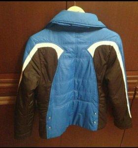 Куртка на синтепоне осень( подростковая)