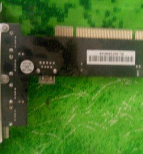 Карта расширения USB портов для PCI слота