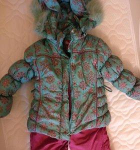 Комбинезон зимний(куртка, штаны, жилет)
