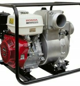 Новая Мотопомпа Honda wt 40