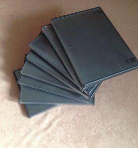 до 17.12.17 Кейсы, коробки для DVD