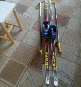 Лыжи для 9-11 лет