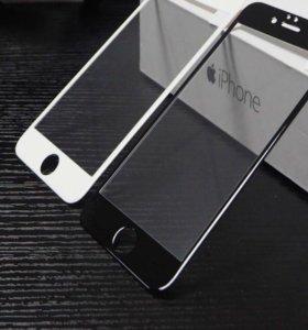 Стекло защитное 3 D 6/7 iPhone