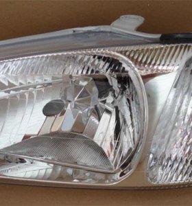 Hyundai Accent Тагаз фара левая правая 2000-2011