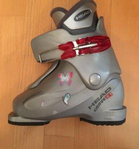 Горнолыжные ботинки head детские