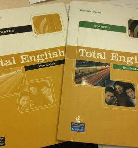 Учебники по английскому Total English Starter