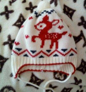 Зимняя шапочка р42-44