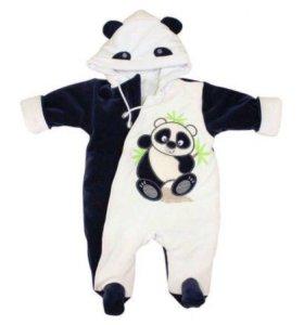 Комбинезон панда