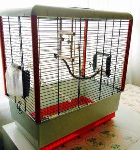Клетка для птички/птичек + Корм в подарок! 🎁