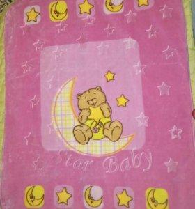 Плед-одеяло, новое