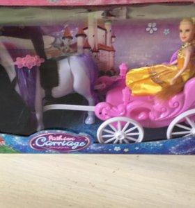 Кукла с лошадкой