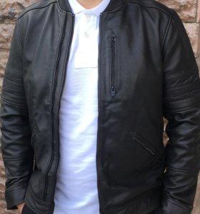 Кожаная куртка SELECTED HOMME 54 размер