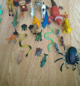Детские игрушки животные