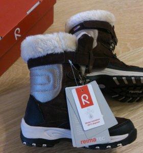 Reimatec новые зимние ботинки р.28