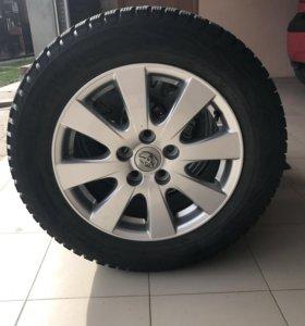 Зимние колеса для тойота Камри 215х60х16