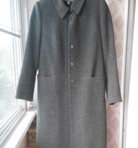 Пальто прямое,шерсть 100%