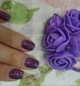 Резиночки для волос с цветами