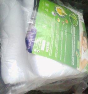 Одеяло бамбуковое новое в упаковке