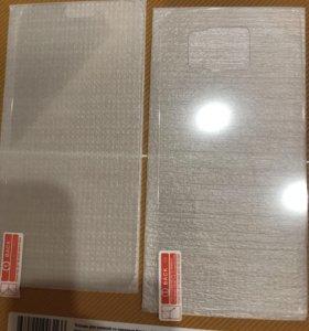 Передние и задние заколённое стекло для samsung s6