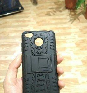 Чехол на Xiaomi 4x черный 1 шт