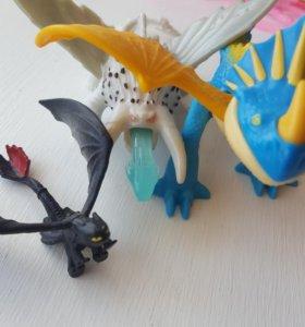 Игрушки драконы.  Беззубик.