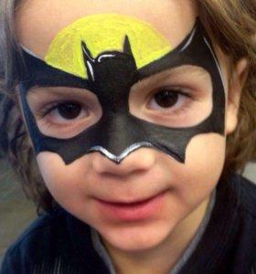 Аква-Гримм на детские праздники