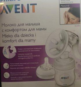 Молокоотсос Авент ручной и бутылочки
