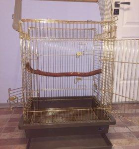 Клетка для попугая 64*55*83