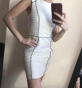 👗 белое платьюшко
