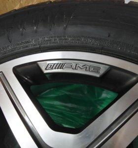Новый комплект колес (4 шт) на 19, AMG