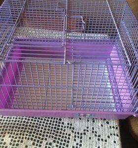 Клетка TRIOL для грызунов и кроликов.