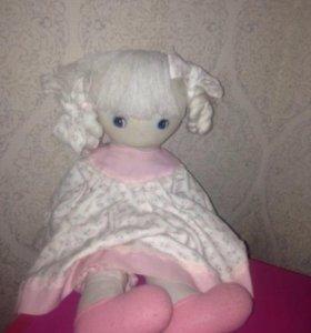 Кукла текстильная винтаж