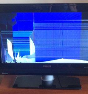 Телевизор philips на запчасти