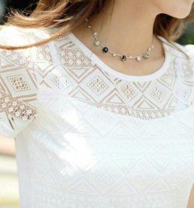 Новая женская футболка-блузка