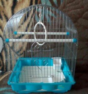 Клетка для попугая.птицы.
