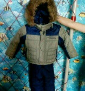 Зимний комплект 86-92 см