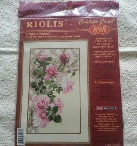 Набор для вышивания крестиком Riolis 898