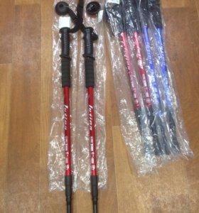 Палки для скандинавской ходьбы телескопические