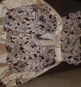 Красивое платье для девочки 8-10 лет