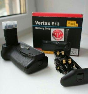 Батарейный блок ручка Vertax E13 для Canon 6D