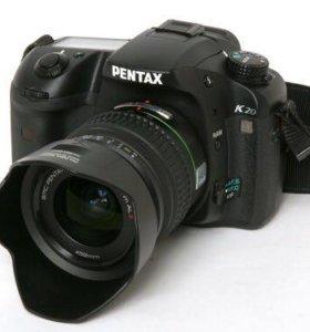 Фотоаппарат зеркальный Pentax k20d