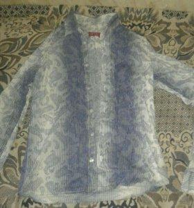 Рубашки по 500 рублей в хорошем состоянии 46 разм.