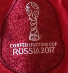Футболка кубка конфедерации