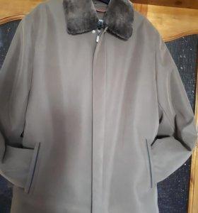 Куртка мужская.54-56р.весна,осеньзима.С подстежкой