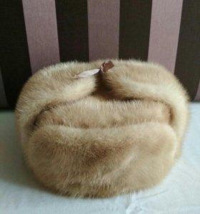 Новая шапка норковая
