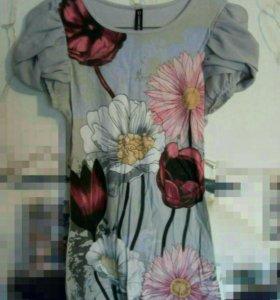 Блузка с узором.