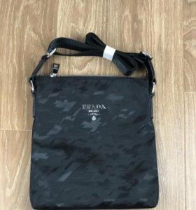 Мужская сумка Прада новая