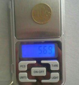 Карманные электронные весы, весы ювелирные