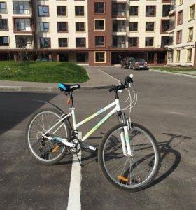 Велосипед горный с мягким седлом