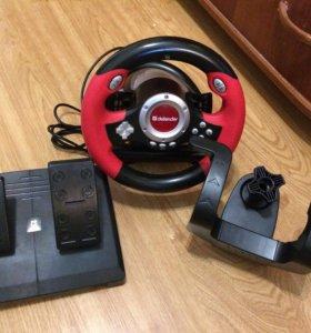 Игровой руль для пк , ноутбуков и т.п